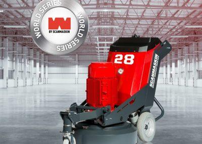 Scanmaskin World Series 28 RC concrete grinder