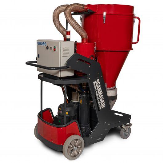 World Serie Scan Dust 9000 industrial vacuum