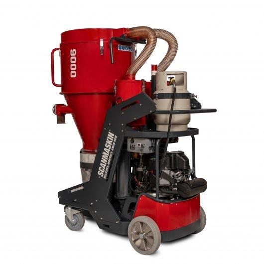 Scan Dust 9000 propane industrial vacuum
